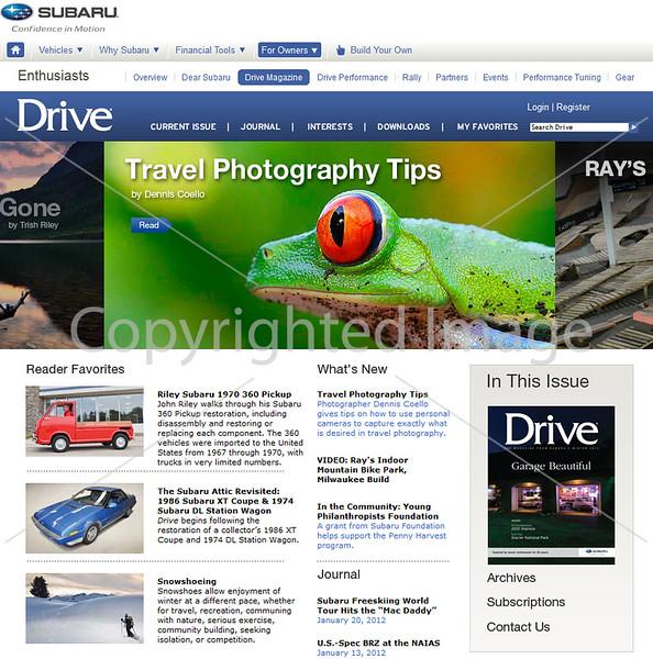 Subaru - Travel Photography Tips