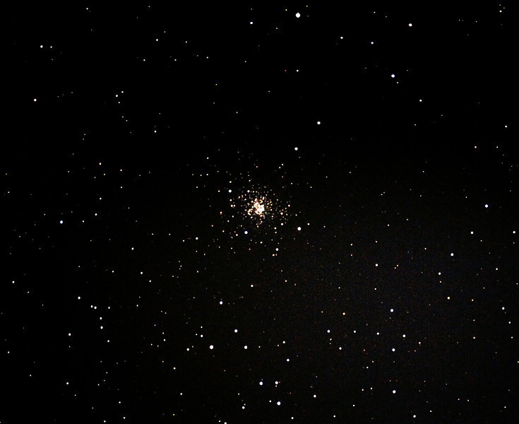 Messier M107 - NGC6171 Globular Cluster in Ophiuchus - 12/07/2013 (Processed cropped stack)