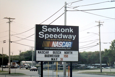 NASCAR Busch North Race rained out @ Seekonk 5-31-2003
