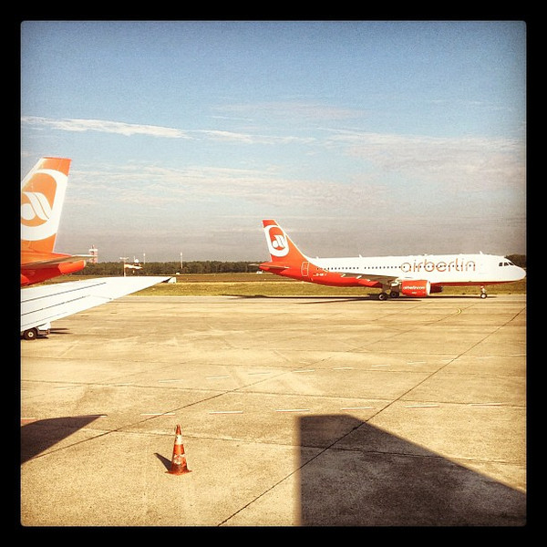 Headed Berlin to #SFO. Next up, talking sustainable tourism at #ESTC12. Thank you @airberlin