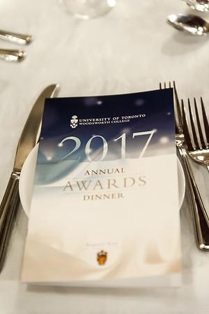 Annual Awards Dinner 2017