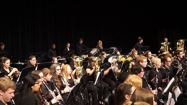 2016 March Shelby's Band Concert