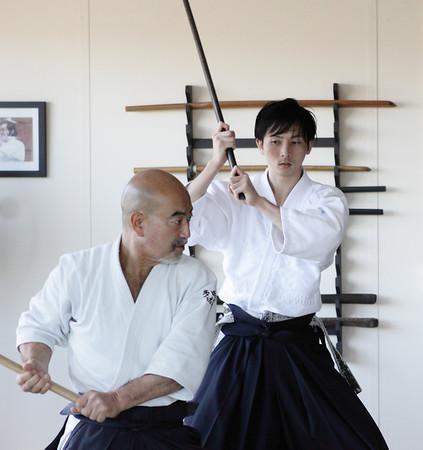 Sato sensei & kyu grading: Newstead July 2012