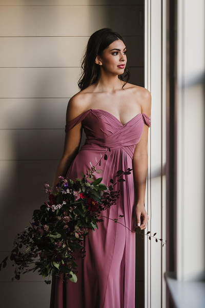 Brides of North Texas Styled Shoot Plum