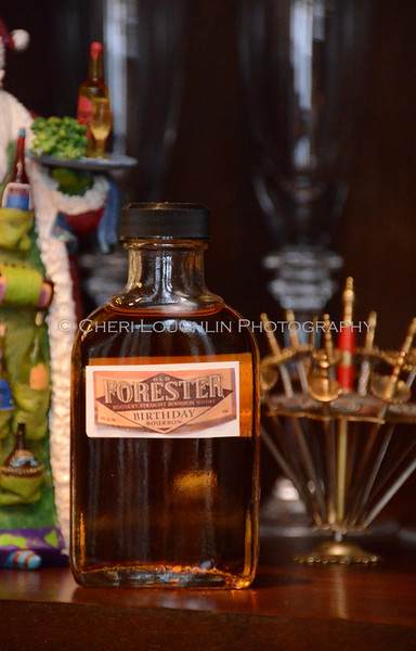Old Forester Birthday Bourbon Vintage 2011 - Cheri Loughlin Wine & Spirits Stock Photography