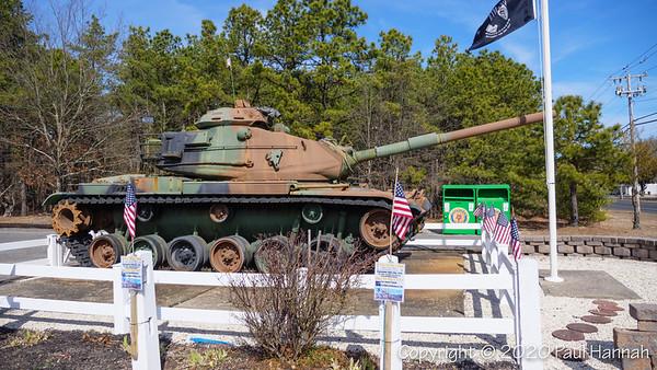 American Legion Post 232 - Barnegut, NJ - M60A3