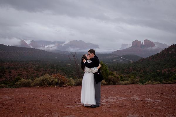 Jeremy & Desiree's Sedona Wedding