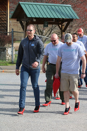 Walk a Mile in Her Shoes Event, April 6