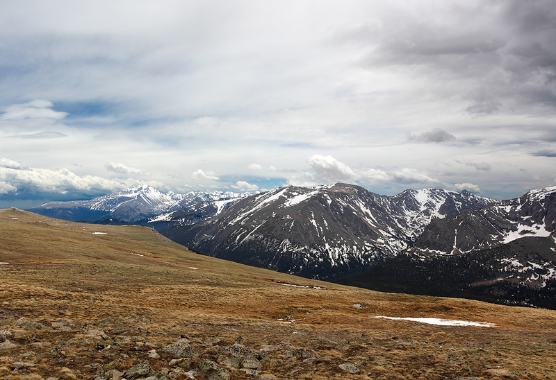 Continental Divide - Rocky Mountain National Park