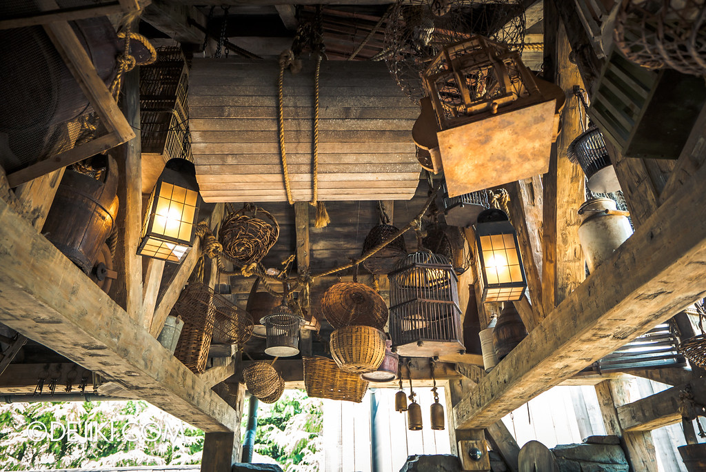 Universal Studios Japan - The Wizarding World of Harry Potter - Flight of the Hippogriff, Hagrid's stuff 2
