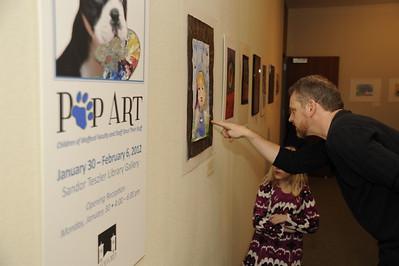 ArtOpening Pup Art