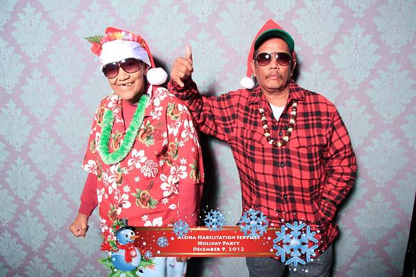 Aloha Rehabilitation Services Holiday Party 2012 (Party Portraits)