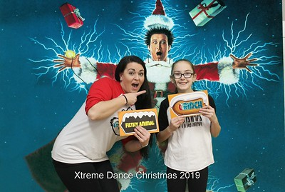 Xtreme Dance Christmas Party Photobooth 12.19.2019