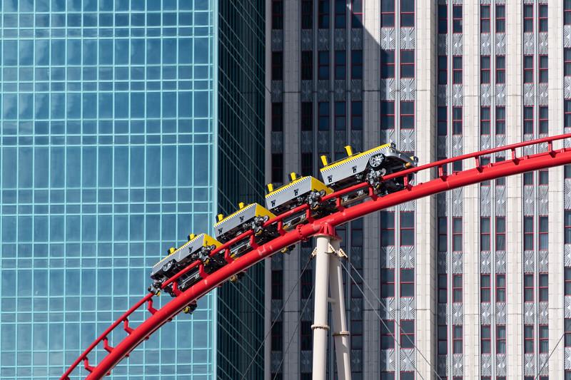 New York, New York Roller Coaster