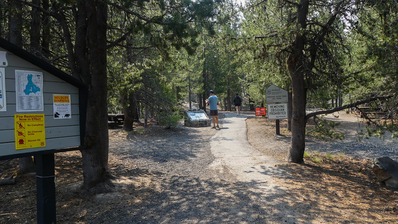 1 mile trail
