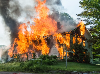 Live Burn - Northfield Rd, Watertown, CT - 6/6/20