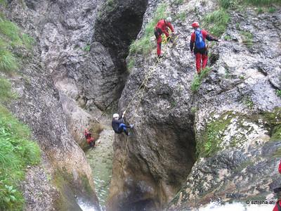 Austria Palfau (kanyoning, rafting)