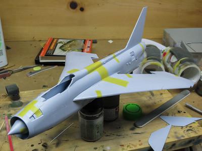 1/48 Airfix EE Lightning F2A