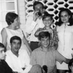 Dundo.1968- Manuela Teixeira, Luis Duarte, Janeca, Miguno e Zé João, Toy Soares, Manuela Maldonado, ?