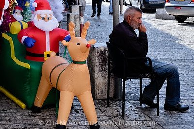 20141208 Christmas Preparations in Jerusalem