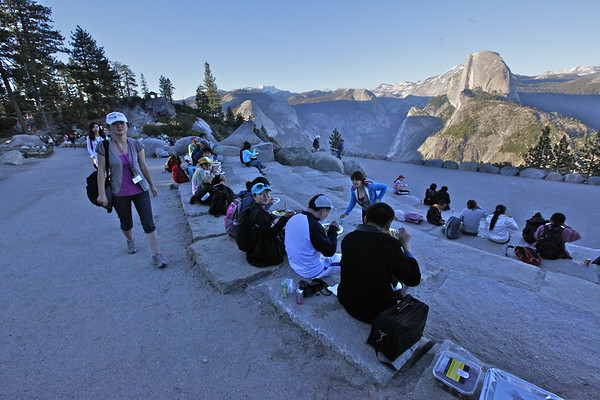 Yosemite 2010 @ Glacier Point
