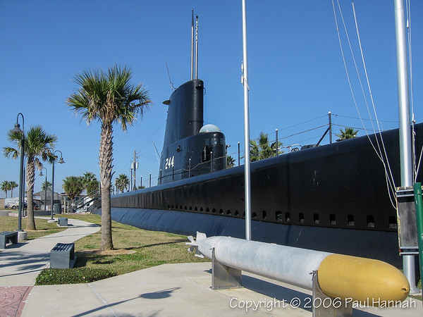 USS Cavalla (SS-244, later SSK-244 and AGSS-244) Gato Class – Galveston, TX