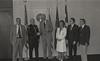 Mayor Hudnut Presents City Employee Awards, May 6, 1982, Img. 1, with Richard I. Blankenbaker