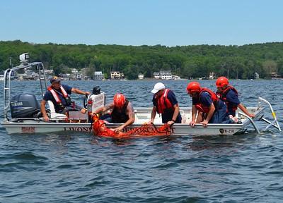 Water rescue training - Conesus Lake Livonia, NY 6/19/21