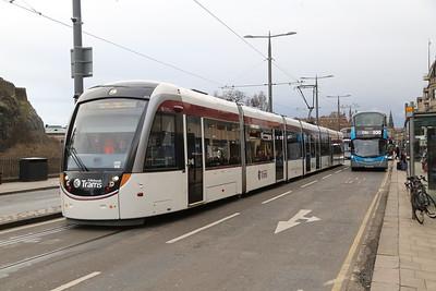 Edinburgh Tram 2019