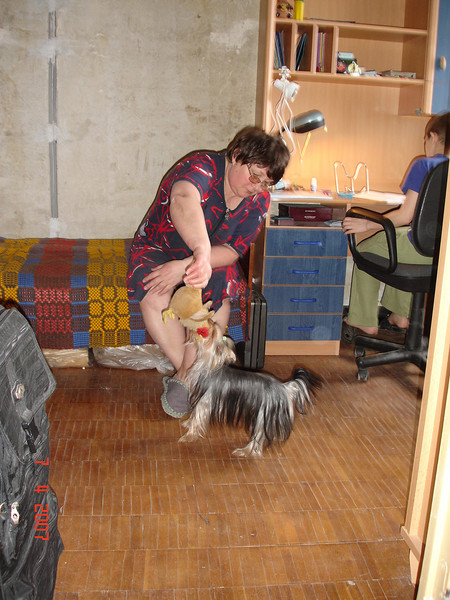 2007-04-07 Приезд бабушки