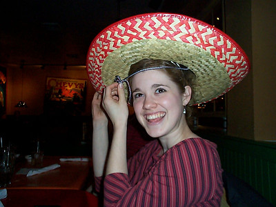 Chelsea's Birthday - February 21, 2003