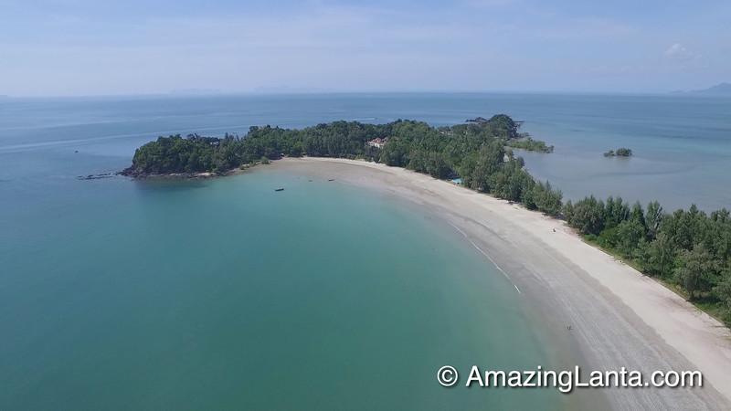 Kawkwang Beach Aerial View