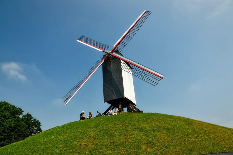 Koelewei Windmill - Bruges, Belgium