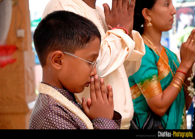 Alaga's son sincerely praying...