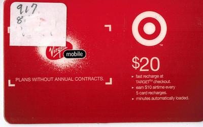 Target-Virgin Scam