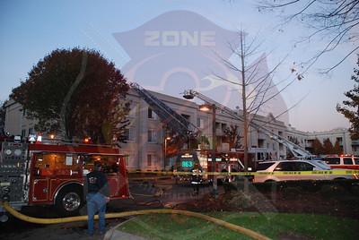 Westbury F.D. Working Fire 54 School St. 12/3/07