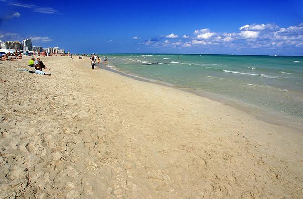 South Beach: The Beach