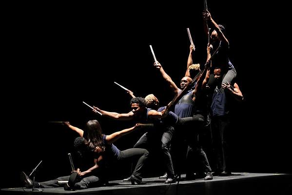 POUGHKEEPSIE, NY - MAY 06:  Step Afrika! performs at the 1869 Bardavon Opera House on May 6, 2016 in Poughkeepsie, New York.