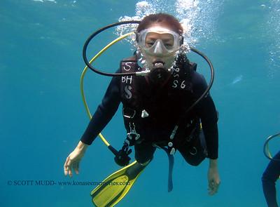 7月の体験ダイビング