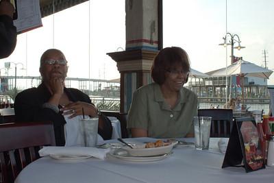 Aunt Janet's Retirement Dinner - Landy's in Kemah Tx