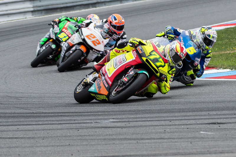 Dominique AEGERTER, Andrea LOCATELLI and Sam LOWES, Czech Republ