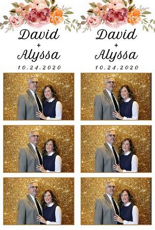 Alyssa & David's Wedding