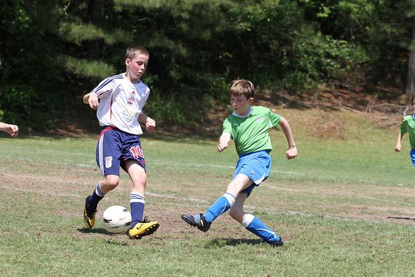 U10 Boys vs Cobb FC 4-30-2011