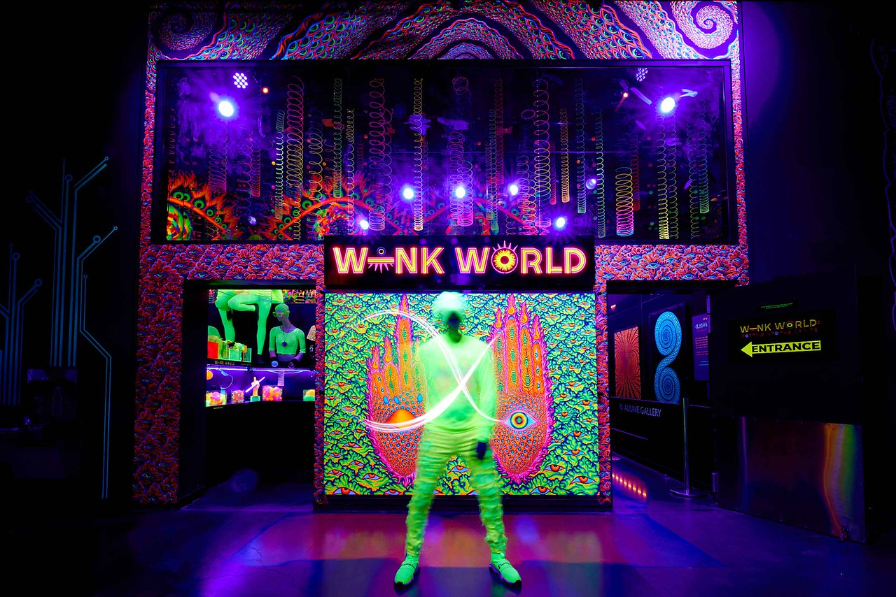 """Blue Man Group Co-Founder Chris Wink Opens """"Wink World: Portals Into The Infinite"""" At AREA15 In Las Vegas"""