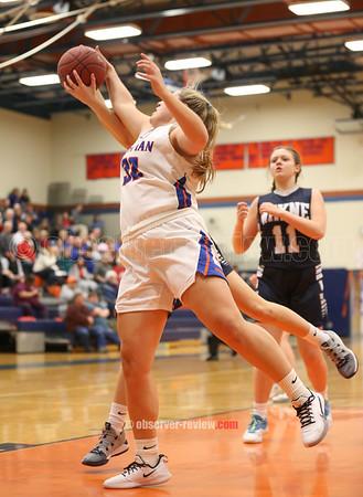 Penn Yan Basketball 2-14-20