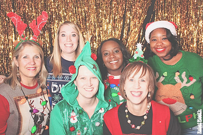 12-14-17 Atlanta Maggiano's Photo Booth - Emerald Expo Holiday Party - Robot Booth