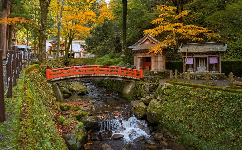 The Eiheiji Temple. Temple Grounds.