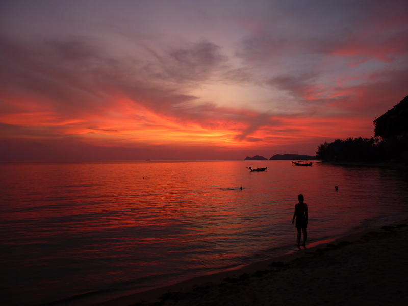 Koh Phangan Sunset