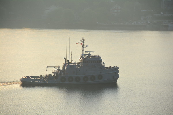 Army tugboat MG Winfield Scott manned by soldiers