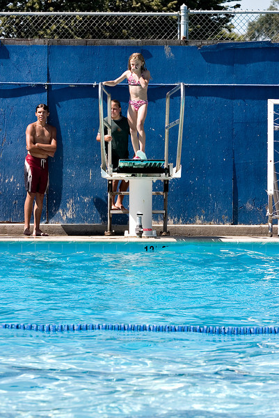 Swimming at Atwater High School